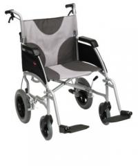 Ultra Lightweight Transit Aluminium Wheelchair